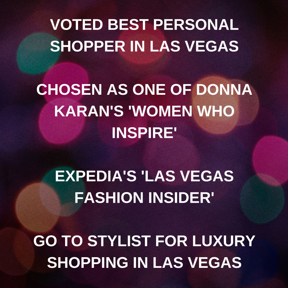 Jenna Doughton Voted best persoanl shopper in las vegas